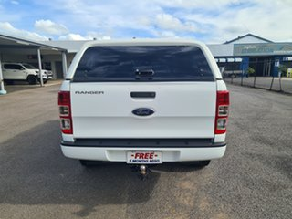 2015 Ford Ranger PX XL White 6 Speed Automatic Dual Cab