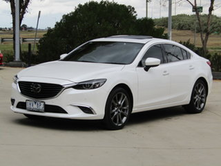 2016 Mazda 6 GL1021 Atenza SKYACTIV-Drive White 6 Speed Sports Automatic Sedan