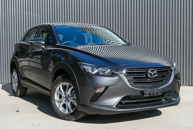Demo Mazda CX-3 DK2W7A Maxx SKYACTIV-Drive FWD Sport Mornington, 2021 Mazda CX-3 DK2W7A Maxx SKYACTIV-Drive FWD Sport Machine Grey 6 Speed Sports Automatic Wagon