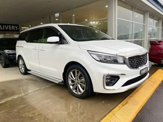 2019 Kia Carnival Platinum Snow White Pearl Sports Automatic Wagon.
