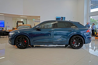 2019 Audi Q8 4M F1 MY20 55 TFSI Tiptronic Quattro Blue 8 Speed Sports Automatic Wagon