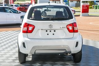 2021 Suzuki Ignis MF Series II GL Pure White 1 Speed Constant Variable Hatchback.