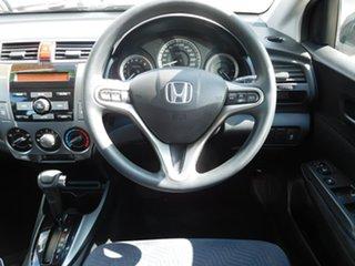2013 Honda City GM MY12 VTi Burgundy 5 Speed Automatic Sedan