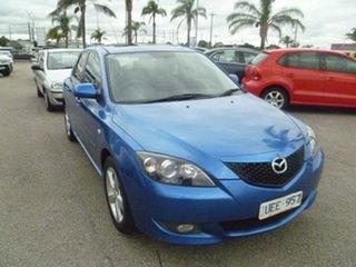 2006 Mazda 3 BK10F1 Maxx Sport Blue 4 Speed Sports Automatic Hatchback.