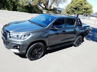 2018 Toyota Hilux GUN126R Rogue Double Cab Grey 6 Speed Sports Automatic Utility