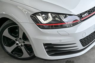 2015 Volkswagen Golf VII MY16 GTi White 6 Speed Manual Hatchback.