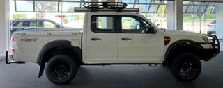 2010 Ford Ranger PK XL Crew Cab White 5 Speed Manual Utility.