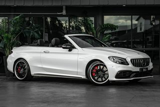 2019 Mercedes-Benz C-Class A205 809MY C63 AMG SPEEDSHIFT MCT S White 9 Speed Sports Automatic.