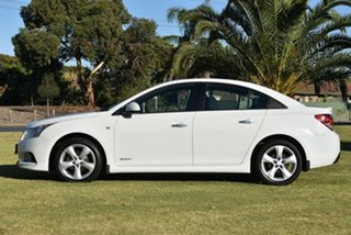2011 Holden Cruze JH Series II MY11 SRi White 6 Speed Sports Automatic Sedan.