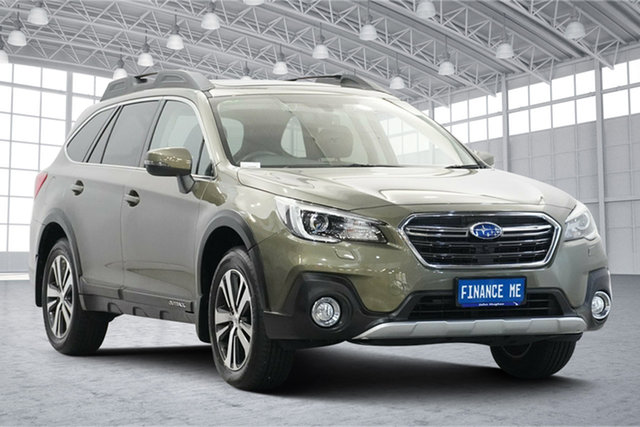 Used Subaru Outback B6A MY19 2.5i CVT AWD Premium Victoria Park, 2019 Subaru Outback B6A MY19 2.5i CVT AWD Premium Olive 7 Speed Constant Variable Wagon