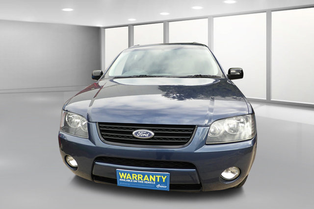 Used Ford Territory SY TX West Footscray, 2008 Ford Territory SY TX Blue 4 Speed Sports Automatic Wagon