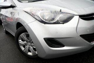 2013 Hyundai Elantra MD2 Active Silver, Chrome 6 Speed Sports Automatic Sedan.
