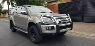 2014 Isuzu D-MAX TF MY14 LS-U HI-Ride (4x4) Gold 5 Speed Automatic Crew Cab Utility.