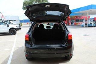 2015 Mitsubishi ASX XB MY15 LS (2WD) Black Continuous Variable Wagon