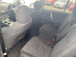 2012 Toyota Kluger GSU40R KX-R Silver Sports Automatic SUV