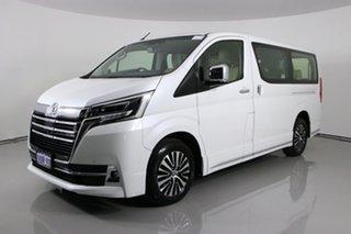 2019 Toyota Granvia GDH303R VX (8 Seats) White 6 Speed Auto Sequential Wagon.