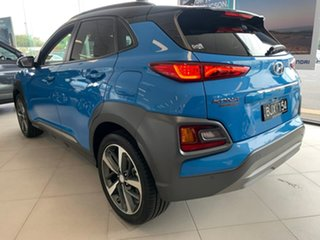 2020 Hyundai Kona OS.3 Highlander Blue Sports Automatic Dual Clutch Wagon