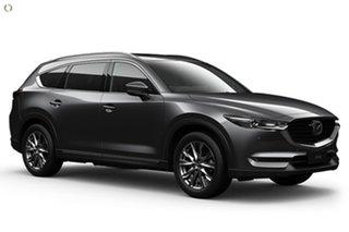 2021 Mazda CX-8 KG2W2A GT SKYACTIV-Drive FWD Grey 6 Speed Sports Automatic Wagon