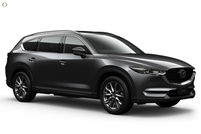 New Mazda CX-8 KG2W2A GT SKYACTIV-Drive FWD East Maitland, 2021 Mazda CX-8 KG2W2A GT SKYACTIV-Drive FWD Grey 6 Speed Sports Automatic Wagon
