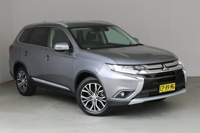 Used Mitsubishi Outlander ZL MY18.5 LS AWD Phillip, 2018 Mitsubishi Outlander ZL MY18.5 LS AWD Grey 6 Speed Constant Variable Wagon