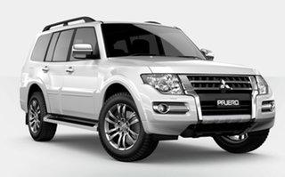 2021 Mitsubishi Pajero NX MY21 GLS White 5 Speed Sports Automatic Wagon