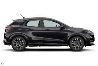 2020 Ford Puma JK 2021.25MY ST-Line Black 7 Speed Sports Automatic Dual Clutch Wagon.