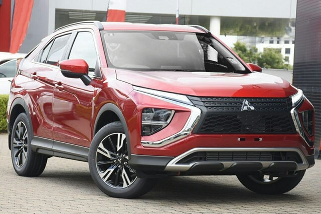 New Mitsubishi Eclipse Cross YB MY21 LS AWD Hamilton, 2021 Mitsubishi Eclipse Cross YB MY21 LS AWD Red Diamond 8 Speed Constant Variable Wagon