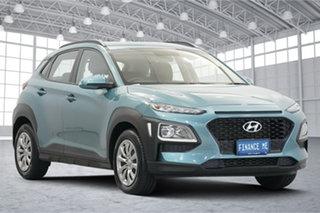 2019 Hyundai Kona OS.2 MY19 Go 2WD Blue 6 Speed Sports Automatic Wagon.