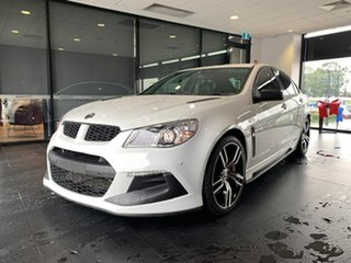 2017 Holden Special Vehicles ClubSport Gen-F2 MY17 R8 LSA White 6 Speed Sports Automatic Sedan