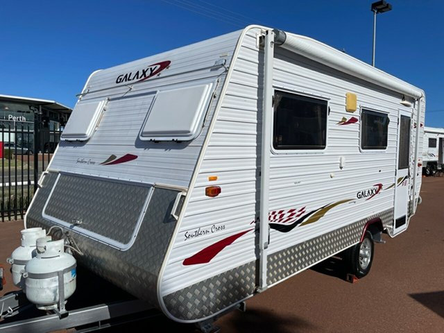 Used Galaxy Southern Cross Series III St James, 2007 Galaxy Southern Cross Series 4 Caravan