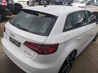 2019 Audi A3 8V MY19 35 TFSI Sportback S Tronic White 7 Speed Sports Automatic Dual Clutch Hatchback.