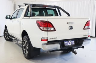 2016 Mazda BT-50 UR0YG1 GT White 6 Speed Sports Automatic Utility.