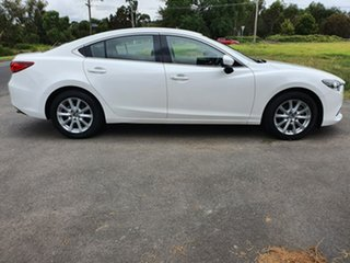 2013 Mazda 6 GJ Sport White Sports Automatic Sedan.