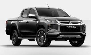 2021 Mitsubishi Triton MR MY21 GLX-R Double Cab Grey 6 Speed Manual Utility