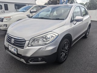2015 Suzuki S-Cross JY GLX 4WD Prestige Silver 7 Speed Constant Variable Hatchback.