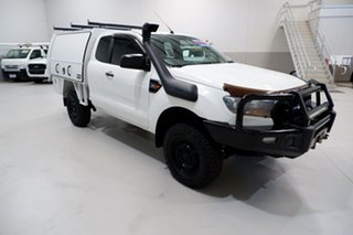 2015 Ford Ranger PX MkII XL White 6 Speed Manual Cab Chassis