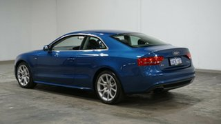 2011 Audi A5 8T MY11 S Tronic Quattro Blue 7 Speed Sports Automatic Dual Clutch Coupe.