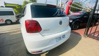 2016 Volkswagen Polo 6R MY17 81TSI DSG Comfortline 7 Speed Sports Automatic Dual Clutch Hatchback
