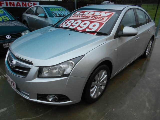 Used Holden Cruze JH Series II MY12 CDX Springwood, 2011 Holden Cruze JH Series II MY12 CDX Silver 5 Speed Manual Sedan