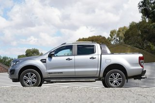 2020 Ford Ranger PX MkIII 2020.25MY Wildtrak Silver 6 Speed Manual Double Cab Pick Up
