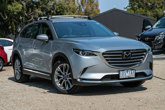 Used Mazda CX-9 TC Azami SKYACTIV-Drive i-ACTIV AWD Mornington, 2018 Mazda CX-9 TC Azami SKYACTIV-Drive i-ACTIV AWD Silver 6 Speed Sports Automatic Wagon