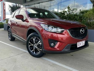 2013 Mazda CX-5 Red 6 Speed Automatic Wagon.