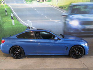 2013 BMW 435i F32 Blue 8 Speed Automatic Coupe.