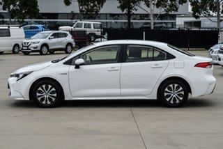 2019 Toyota Corolla ZWE211R Ascent Sport Hybrid White Constant Variable Sedan