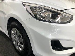 2017 Hyundai Accent RB5 MY17 Sport Crystal White 6 Speed Sports Automatic Sedan.