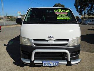 2007 Toyota HiAce KDH201R MY08 LWB White 4 Speed Automatic Van.