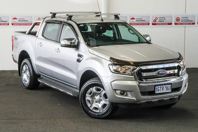 Pre-Owned Ford Ranger PX MkII MY17 XLT 3.2 (4x4) Rockingham, 2017 Ford Ranger PX MkII MY17 XLT 3.2 (4x4) 6 Speed Manual Double Cab Pick Up