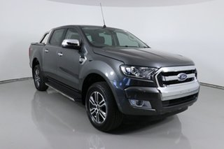 2018 Ford Ranger PX MkII MY18 XLT 3.2 (4x4) Grey 6 Speed Manual Double Cab Pick Up.