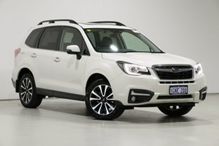2017 Subaru Forester MY17 2.5I-S White Continuous Variable Wagon.