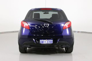 2013 Mazda 2 DE MY14 Neo Sport Blue 5 Speed Manual Hatchback